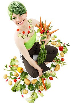 Ultimate superfoods - girl