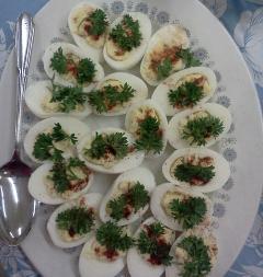 Low Calorie Devilled Eggs