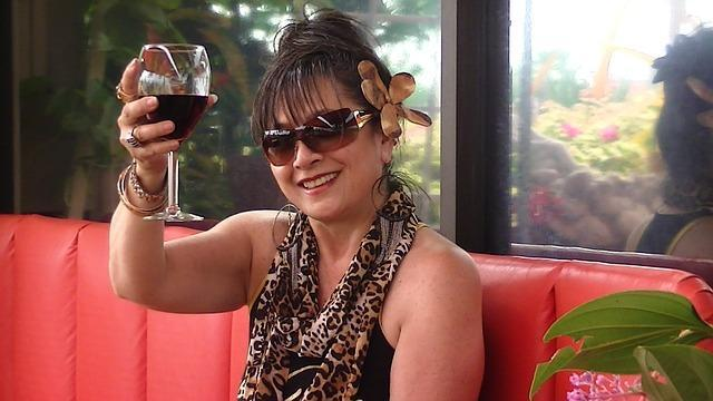 Low Calorie Wine Spritzer