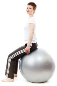 Sedentary Lifestyle or Sitting Disease - Exercise Ball