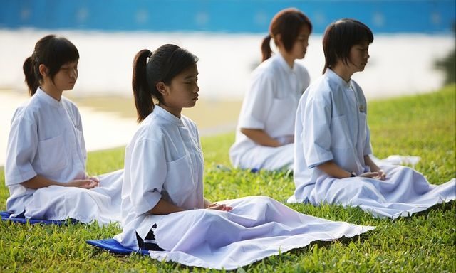 What Is The Appeal Of Meditation - Children Meditating
